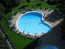 Kidney shaped pool Royalty Free Stock Photos