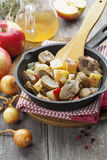 Kidneys beef in cider Stock Photo