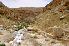 Kidron gorge, Israel. Stock Photography
