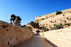 Kidron Valley Royalty Free Stock Photos