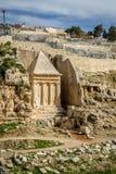 Kidron Valley, Jerusalén Fotografía de archivo libre de regalías