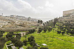 Kidron Valley. Jerusalem Stock Image