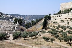 Kidron Valley Royalty Free Stock Image