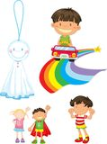 Kids royalty free illustration