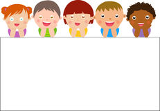 Kids. Illustration of group of kids Stock Image