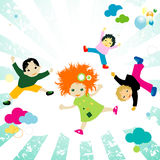 Kids vector illustration