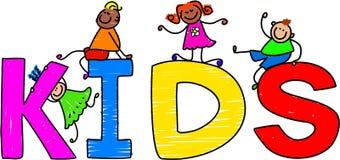 Kids royalty free illustration