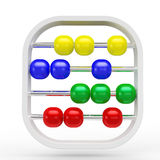 Kids Abacus. On white background Royalty Free Stock Images
