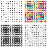 100 kids activity icons set vector variant. 100 kids activity icons set vector in 4 variant for any web design isolated on white Stock Illustration