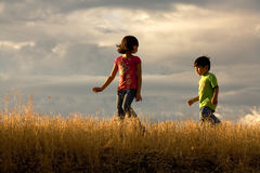 Kids adventure. Royalty Free Stock Photos