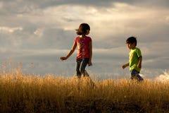 Kids adventure. royalty free stock photos