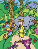 Kids Adventure: Photographer stock illustration