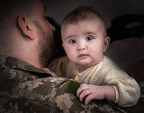 Kids Against War Stock Photo