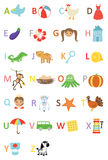 Kids alphabet Royalty Free Stock Photo