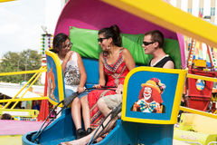 Kids Amusement at A Taste of Colorado. Thousands of food and music lovers attend A Taste of Colorado over Labor Day weekend each year. There were plenty of Royalty Free Stock Image