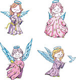 Kids angels Royalty Free Stock Photography