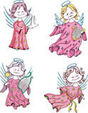 Kids angels Royalty Free Stock Photos