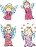 Kids angels Stock Photos