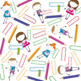 Kids background Stock Images