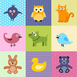 Kids Background Stock Image