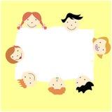 Kids background design Stock Photography