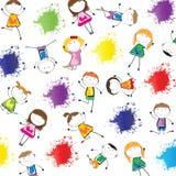 Kids background Royalty Free Stock Image