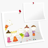 Kids banner Royalty Free Stock Image