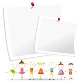 Kids banner Royalty Free Stock Photos