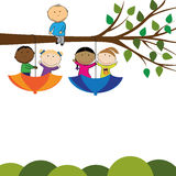 Kids banner Stock Image