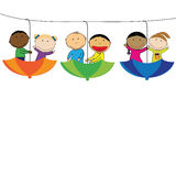 Kids banner Royalty Free Stock Image