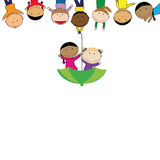 Kids banner Stock Photography