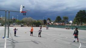 Kids basketball Royalty Free Stock Photos
