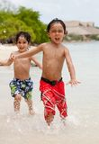 Kids at the beach Royalty Free Stock Image