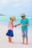 Kids at beach Royalty Free Stock Image