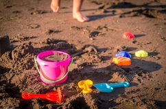 Free Kids Beach Toys Stock Photo - 118537520