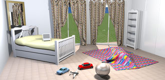 Kids bedroom Royalty Free Stock Images