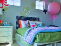 KIds bedroom Royalty Free Stock Photography