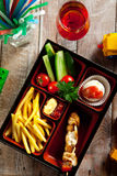 Kids Bento Food Stock Image