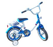 Kids bicycle Stock Photography