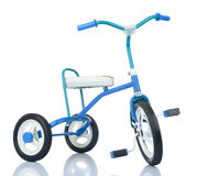 Kids bicycle on white background Royalty Free Stock Images