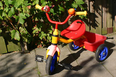 Kids Bike. Colourful Bike for kids stock images