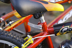 Kids Bikes Detail Royalty Free Stock Photography