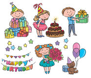 Kids birthday Royalty Free Stock Images