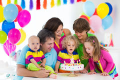 Kids birthday party Stock Photography