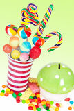 Kids birthday table setting Stock Photos