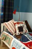 Kids blue bedroom Stock Photography