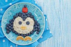 Kids breakfast porridge Stock Images