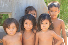 Kids of Cambodia Stock Photography