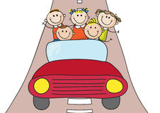 Kids car Stock Images