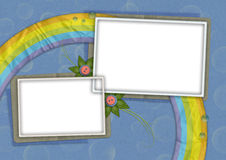 Kids card 06 Royalty Free Stock Image